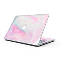 Marbleized Soft Pink - MacBook Pro with Retina Display Full-Coverage Skin Kit
