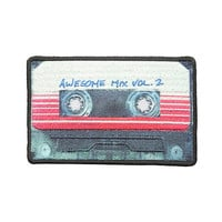 Marvel Guardians Of The Galaxy Vol. 2 Mix Tape Iron-On Patch