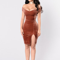 Glory Days Dress - Chocolate