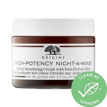 High-Potency Night-a-Mins™ Oil-Free Resurfacing Cream with Fruit-Derived AHAs - Origins | Seph