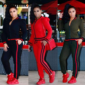 Jogging Suit Sexy Cotton Tracksuit for Women