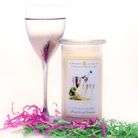 New Years Party Jewelry Candle