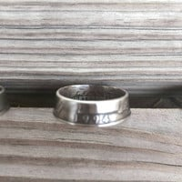 Coin Ring. Liberty Ring. 1994. 21st Birthday Gift. 21st Anniversary Gift.