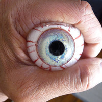limited edition Eye bowl pipes,Heavy inside-out,Color changing silver fume!