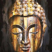 5D Diamond Painting Wooden Buddha Kit