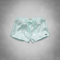 A&F Mid Rise Sequin Shorts