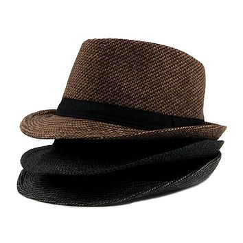 Wool Mixed Fedora Classic Autumn Winter Hat