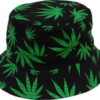 + Bucket Hat In Black