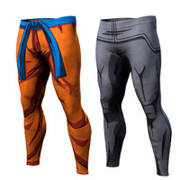 Ball Z Men/Women 3D Dragon Ball Z Trousers Vegeta Goku Summer Style 3D  trousers