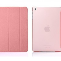 iPad Mini Case - Bear Motion for iPad Mini - Premium Folio Case with Stand for Apple iPad Mini 1 (Support Smart Cover Function) - NOT For iPad mini with Retina Display