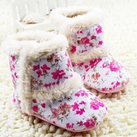 Baby Snow Boots Soft Crib Shoes Toddler Snow Boots baby shoes girls toddler girl shoes