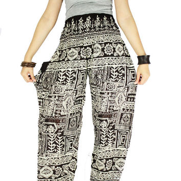 Gypsy pants  Harem pants Thai pants Hippie cloches Palazzo pants Hippie pants Elephant pants Elephant cloches