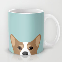 Corgi Mug by Anne Was Here