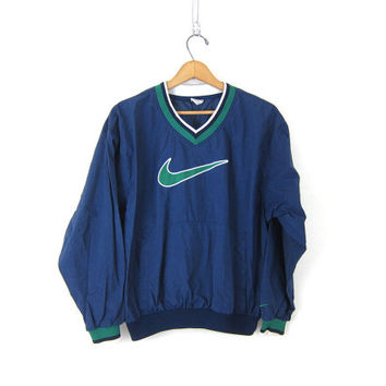 Arrestar Anécdota caos  vintage NIKE pullover windbreaker. blue from Dirty Birdies