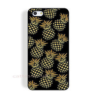 case,cover fits iPhone,iPod models>pineapple,pastel,black,bright,fruit,retro