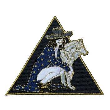 Wolf and Girl Patch