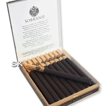 Sobranie Black Russian Cigarettes - Pack of 20 - Smoke-king Family run Specialist Tobacconist Est:1989