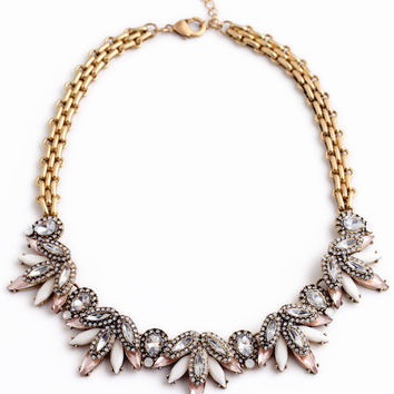 Glam and Chic Statement Necklace