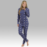 Snowflake - Adult Christmas Pajamas - Ruffles with Love - RWL