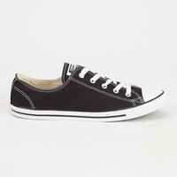 Converse Chuck Taylor All Star Dainty Womens Shoes Black  In Sizes
