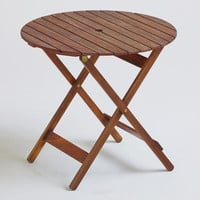Mika Round Natural Wood Table | World Market