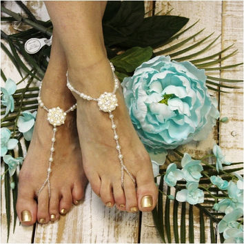 PARIS CHIC barefoot sandals