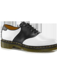 Dr Martens RAFI WHITE + BLACK SMOOTH - Doc Martens Boots and Shoes