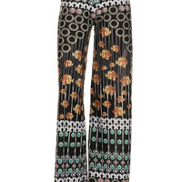 Sunflower Fish Print Palazzo Pants