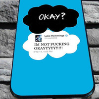 luke hemming 5sos the fault in our star for iPhone 4/4s/5/5S/5C/6, Samsung S3/S4/S5 Unique Case *95*