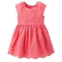 Carter's Scallop Eyelet Dress - Baby