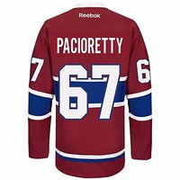 Max Pacioretty Montreal Canadiens NHL Reebok Men's Red Name & Number Player #67 Jersey