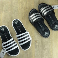 Adidas Fashion One Word Sandals Casual  Beach Summer Flats Sandals Shoes