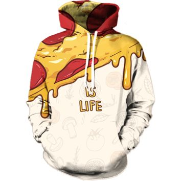 Pizza is Life Hoodie