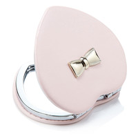 Patent Bow MIrror | Pink | Accessorize