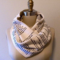 The Great Gatsby Book Scarf by storiarts on Etsy