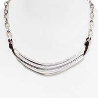 Robert Lee Morris Soho Corrugated Collar Necklace, 21""