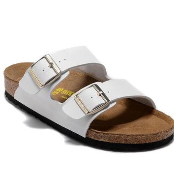 Men's and Women's BIRKENSTOCK sandals Arizona Birko-Flor 632632288-077
