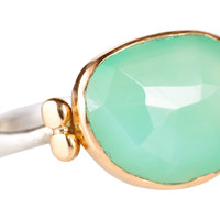 Rosecut Chrysoprase Ring, Stone & Novelty Rings