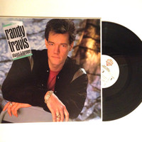 LP Album Randy Travis Always And Forever Vinyl Record 1987 Country My House Good Intentions