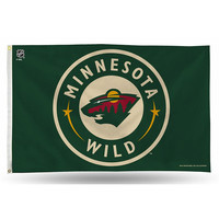 Minnesota Wild NHL 3in x 5in Banner Flag
