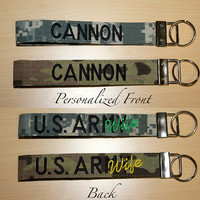 Custom Army Wristlet in ACU or Multicam