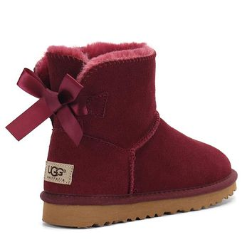 UGG Bow snow Shoes boots