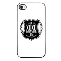KPOP EXO MEMBER XOXO IPHONE4 CASE (exo)