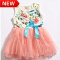 new 2013 summer girls' dresses 2013 kids dress baby dress tutu girl dresses casual girls clothes t-shirts bk690 - Default