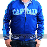 Suicide Squad Jai Courtney Captain Boomerang Blue Jacket - Available All Size