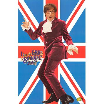 """Poster: Austin Powers - Mike Myers (22""""x34"""")"""