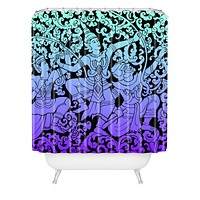 Deb Haugen Bali Dance Shower Curtain