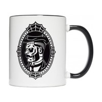 """Zombie Cameo"" Gentleman Mug by Sourpuss Clothing"
