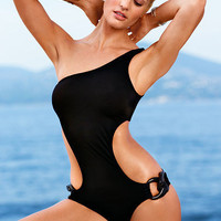 Women One-pieces Simple Swimsuit Bikini