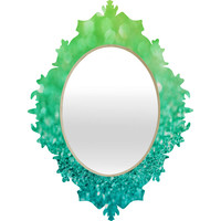 Lisa Argyropoulos Sea Breeze Baroque Mirror